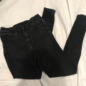 Urban Outfitters BDG super high waist black jeans